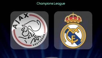 Woensdag live in de kantine: Ajax – Real Madrid vanaf 20:00