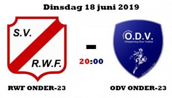 RWF onder-23 – ODV onder-23