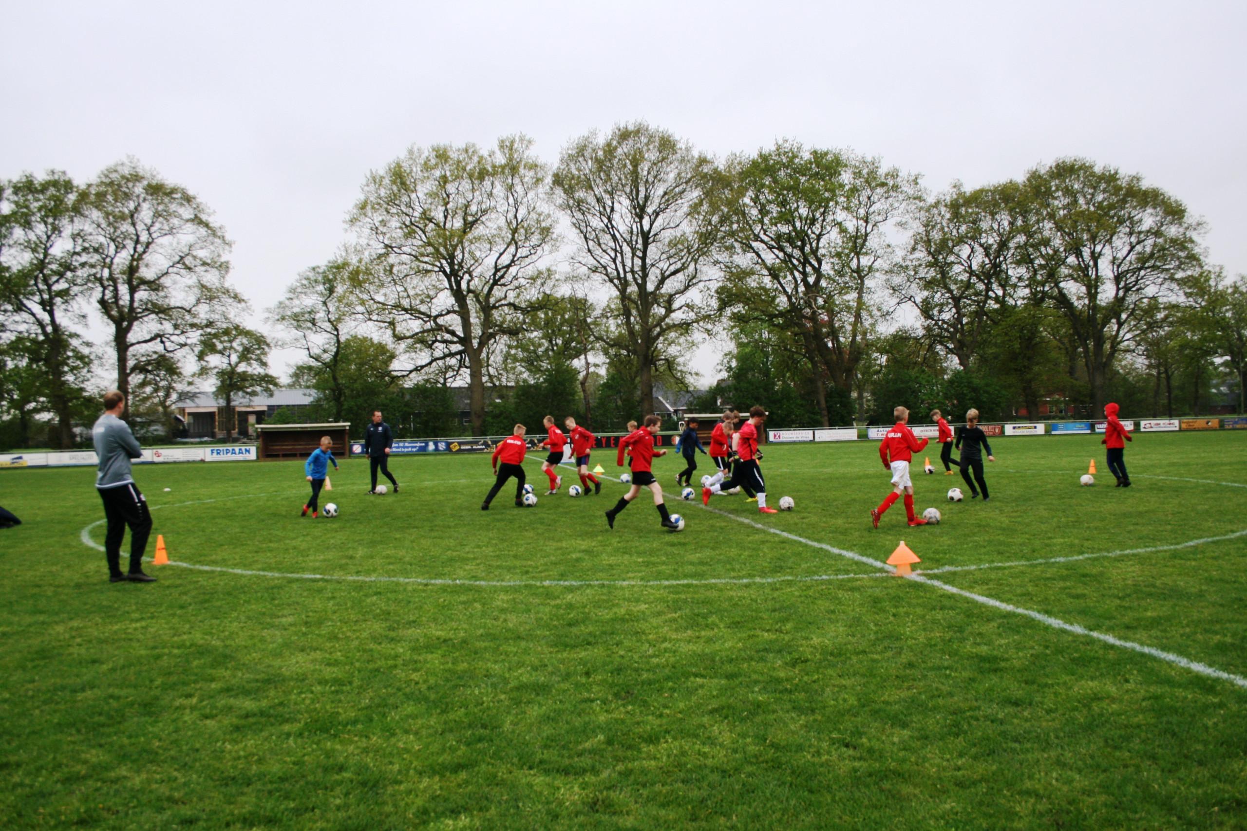 Indeling jeugd sv RWF 2021-2022