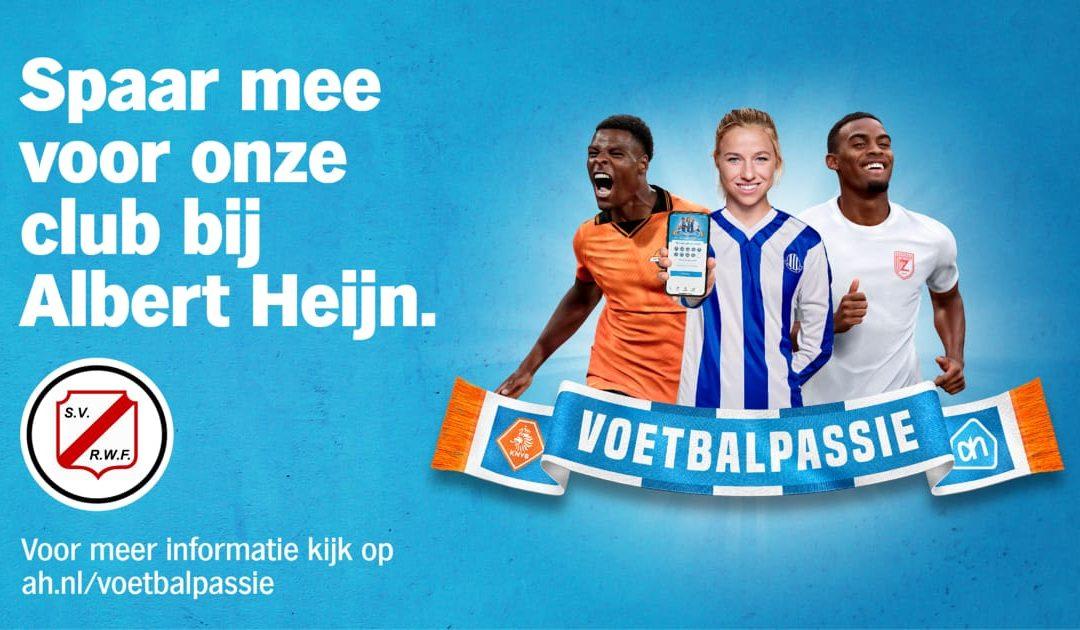 Spaar mee voor onze club bij Albert Heijn